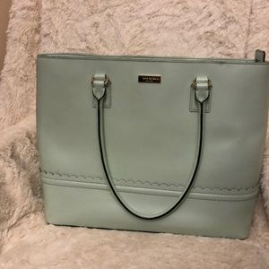Kate Spade Malena lilac road tote in Mint